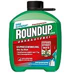 Roundup 3211 Express Unkrautfrei, Fertigmischung zur Bekämpfung von Unkräutern und Gräsern, 5 Liter Kanister