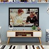 HYY-YY Meuble Tele Standaard Erhöhung Ecran Ordinateur Bureau Lift Holz Mueble Monitor Tisch Wohnzimmer Möbel TV-Ständer (Farbe Nr. 7)