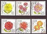philaseum Briefmarken: DDR 1979 Mi.Nr. 2435-2440, (IGA), Erfurt: Dahlien, Gestempelt (Mi. 6 EUR),