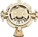 ROKR Kalender Holz DIY Vintage Timer Puzzle Spielzeug