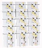 Twinco Prospekthalter Wandmodell A4 15 Fächer Twin 81668 Silber