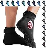 BPS Neopren-Socken (schwarz/rotbraun, XXL)