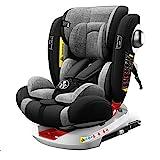 Babify Onboard Autositz, um 360 Grad drehbar, Gruppe 0/1/2/3, von Geburt bis 12 Jahre, neigbar, Geburt bis Gruppe 1