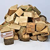Landree BBQ Grillholz 8Kg (saubere) Alternative zu Kohle oder Briketts - direkt vom Holzhof aus Schleswig-Holstein (Akazie)
