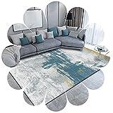 AFlying Bereich Teppich Runner Teppiche Für Wohnzimmer Nordic Style Rugbare Unterstützung rutschfeste Anti-müdigkeit Fliesen In Haus & Küche Geometrische Muster(Size:120cm×160cm,Color:R3)