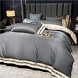 Cactuso Bettbezug 220 X 240 Baumwolle,Sommer EIS Seidebett Vierteilige BläTter Set Sommerseide-Mi Kamel 8_1,5m Bett 4 SäTze