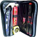 Ekeko Home Survival Briefcase - Praktisches Werkzeugset für jeden Notfall in Haus, Auto, Wohnmobil