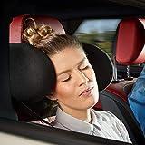 Cartrend Komfort Auto-Kopfstütze inkl. Nackenrolle, klappbar, verstellbar, mit Memory-S