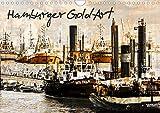 Hamburger GoldArt (Wandkalender 2021 DIN A4 quer)