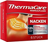 ThermaCare selbstheizendes Patch, für Nacken, Schulter und Handgelenk, lindert Nackenschmerzen, 16 Stunden konstante Wärme, 6 Stück