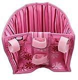 Götz 3401927 Blümchen Roller- und Fahrradsitz - Puppenzubehör für alle Puppen von 27 cm bis 50 cm egal ob Babypuppe oder Stehpuppe
