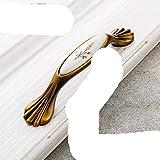 Möbelgriff aus Keramik, Antik-Optik, bronzefarben, für Schrank, Tür, europäisches Möbelgriff, Hardware-Griff, 3020-96C