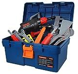 ISO TRADE Werkzeug Kinder Spielzeug Werkzeugkoffer Werkzeugkasten Handwerker Groß 4510
