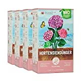 Plantura Bio Hortensiendünger mit 3 Monaten Langzeitwirkung, 6 kg für prächtige Hortensien in Beet & Topf, Bio-Qualität, gut für den Boden, unbedenklich für Haus- & Gartentiere