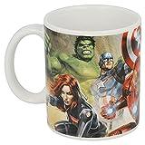 Avengers Tasse aus Keramik für Kinder in Geschenkbox (Thor Hulk Iron Man Superhelden)