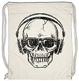 Urban Backwoods Headphones Sunglasses Skull Turnbeutel Sporttasche