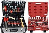 FAMEX 420-24 Alu Werkzeugkoffer mit Top-Werkzeugbestückung und Steckschlüsselsatz