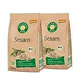 2x CLASEN BIO Demeter Sesam, ungeschält - 250 g