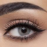 Anesthesia - Natürliche farbige Monatslinsen (stark deckend) ohne Stärke Farbe'Vegas Gray' grau - Hochwertige Farblinsen Kontaktlinsen farbig ohne Sehstärke (100% natürlich & weich) -1 Paar