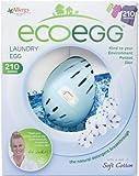 Ecoegg Wäsche-Ei, 210 Waschgänge, weiche Baumwolle