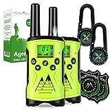 Monte Stivo® Agent | Walkie-Talkie für Kinder mit Kompass & Badge | Tolles Geschenk-Set Outdoor Spielzeug für Junge M