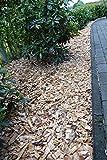 500L Holzhackschnitzel grobe Stücke Garten Beete Unkrautschutz in Top Qualität% Einstreu Hackschnitzel Holz