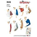 Simplicity US8506A Schnittmuster 8506 A (38, 40, 42, 44, 46, 48, 50), Papier, weiß, 22 x 15 x 1 cm