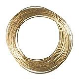 NET TOYS Vielseitig einsetzbare Schmuck Armbänder - Gold - Elegantes Damen-Accessoire 40 Armreifen für Zigeunerin, Wahrsagerin oder Gipsy Outfit - Perfekt geeignet für Fasching & Karneval