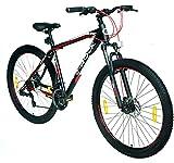 E-ROCK Mountainbike EX-7 Hardtail 29 Zoll Fahrrad MTB Trekkingrad Fitness Bike MTB Gabelfederung Scheibenbremsen Shimano Schaltung