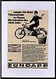 Zündapp Mofa 25 - Werbung - 1966-21x 15cm (A5)