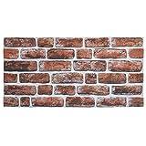 IZODEKOR Wandverkleidung Steinoptik Styropor 3D Wandpaneele - Verblender Steinoptik für Küche, Badezimmer, Balkon, Schlafzimmer, Wohnzimmer, Küchenrückwand und Teras | Honigk