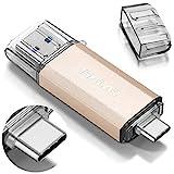 THKAILAR 128GB 256GB 512GB USB-C Flash-Laufwerk Hochgeschwindigkeits-USB 3.0-Speicherstick für Musik/TV/Video/Externe Datenspeicherung Speicherstick mit Stift für Smartphone/PC/MacBook