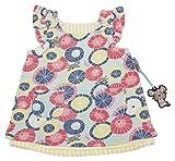 Sigikid Baby-Mädchen Wendekleid, Kleid, Mehrfarbig (Starlight Blue 575), (Herstellergröße: 68)