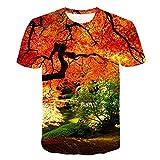 Sommer Mode Männer T-Shirt3D Print Rose Blume Tops Rundkragen Kurzarm Hip Hop Kleidung Harajuku Pullover