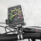 Weikeya Geeigneter Fahrrad-Tachometer, Qualitätsmaterial-Fahrradcomputer mit Kunststoff