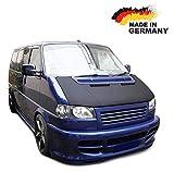 Black Bull Haubenbra für VW T4 GP Facelift Vollbra Steinschlagschutz Motorhaubenschutz Automaske