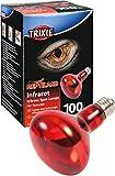 Trixie 76097 Infrarot Wärme-Spotlampe, ø 80 × 108 mm, 100 W
