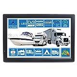 Unispectra® Digitaler LED-TV für Wohnmobile, Wohnwagen, Boot, Küche, 12 Volt, 35,6 cm (14 Zoll), DVB-T2 Freeview HD und alle Europa frei zum Air TV 12 V 240 V USB PVR & Media Player, HDMI CCTV Monitor