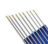 Kattex - SET/MIX - WIG Elektroden gold (je 3 Stück Ø 1,6/2,0/2,4mm) WL-15, WIG Schweißen, Wolframelektroden