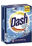 Dash® Alpen Frische Pulver I Vollwaschmittel für weiße Wäsche I 100 Waschladungen I frische, strahlend reine Wäsche | 6,5 kg