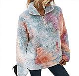 A/N Winter 2020 Frauen EuropäIsche Und Amerikanische Mode Tie-Dye Wollhemd Frauen
