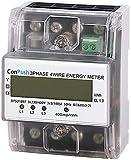 Conpush 230 / 400V 5-100A Energieverbrauch Digitaler Stromzähler 3 Phasen 4P KWh-Zähler mit digitalen LCD-Produkten Werden Häufig in Leistungsmesssystemen Eingesetzt.