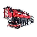 SESAY Technik Kran Liebherr LTM 1750-9.1 Modell, 2.4G RC/APP Technik Ferngesteuert Kran Bausteine Bauset mit 12 Motors, 7769 Teile Bausteine Bauset Kompatibel mit Lego Technik -Upgraded Version