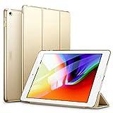 ESR Hülle Kompatibel mit iPad 6. Generation/5. Generation, iPad 2018 Hülle für Modell 9,7 Zoll - Ultra Dünnes Smart Case Cover mit Auto Schlaf-/Aufwachfunktion - Champagner Gold