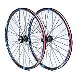 LvTu MTB Front Rear Wheel Set Fahrradradsatz Scheibenbremse Vorderrad Hinterrad 26 27.5 29 Zoll Doppelwandig Rand Aluminiumlegierung (Size : 29 inches)