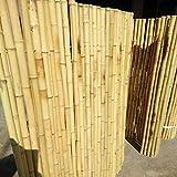 Zaun Sichtschutz Windschutz Natürlicher Bambus-Sichtschutz Bambuszaun Innenhof Außenkabelverbindung Landschaftsbau Gärten Terrassen und Balkone GCSQF210410