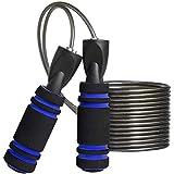 MOCOCITO Springseil Fitness | Speed Rope für Herren & Damen | Springseil für Kinder | 2.8Metres Length Adjustable