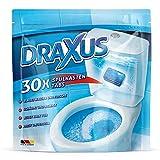DRAXUS 30x Spülkasten Tabs I Wasserkastenwürfel für den Spülkasten im Vorratspack I WC Tabs färben das Wasser blau I Sorgen für Frische und Sauberkeit