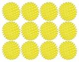 Black Duck Brand Set mit 12 hochwertigen Trocknerbällen – macht Stoffe natürlich weich – wiederverwendbar – hypoallergen – verkürzt die Trocknungszeit (12, gelb)