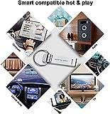 1TB Speicherstick USB 3.0 Flash Drive Wasserdicht USB Stick High Speed Thumb Drive mit Schlüsselanhänger für Computer PC Laptop Datenspeicherung